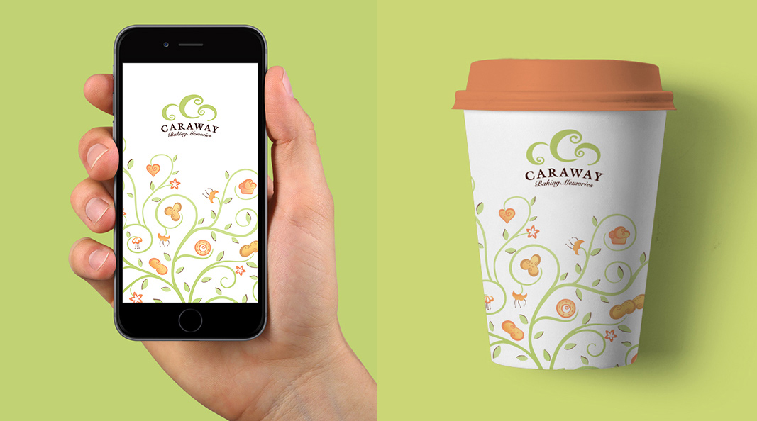 Cracker & Rush: Case Study - Caraway - Cup & Phone wallpaper