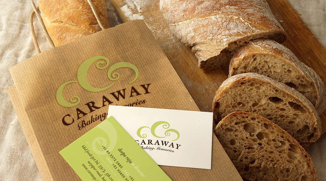 Cracker & Rush: Case Study - Caraway - Visiting card