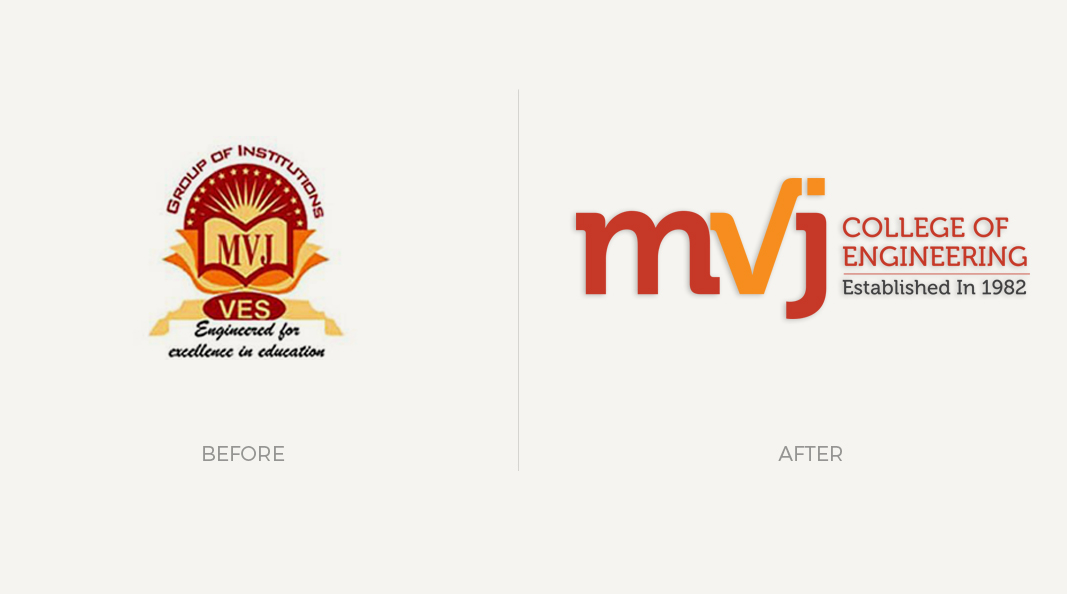 Cracker & Rush: Case Study - MVJ - Logo - Before & After