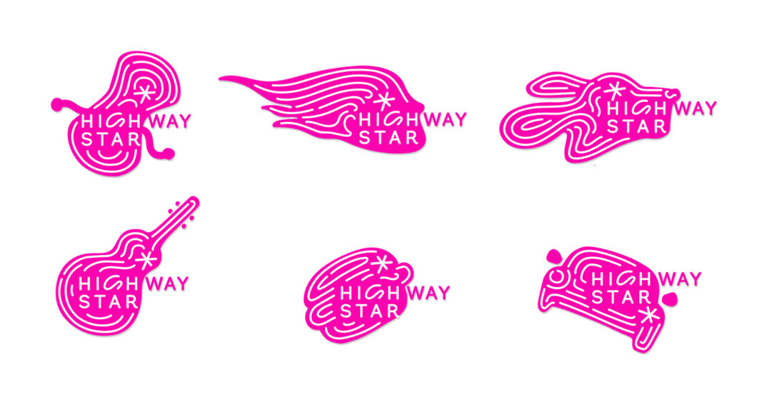 Cracker & Rush: Case Study - Highway Star - Logos